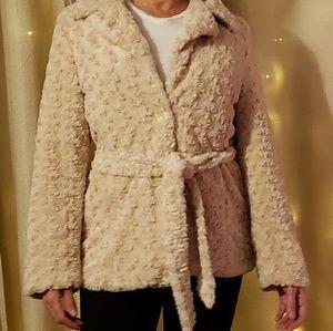 Sisters outerwear faux fur jacket